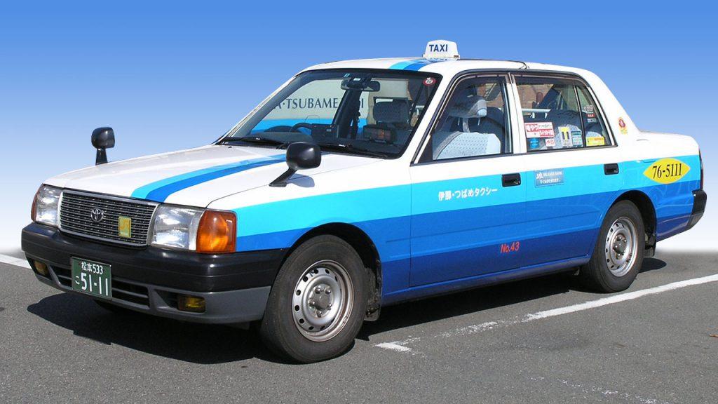 一般タクシー車両